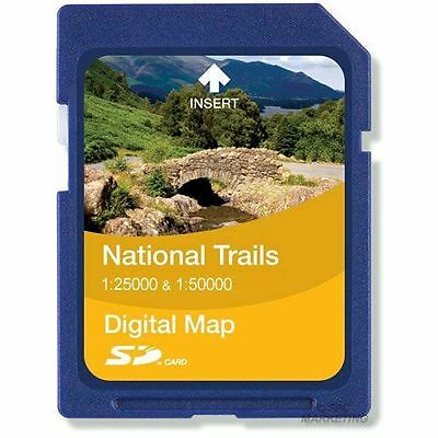 Satmap - National Trails Carte [UK-NT-PREM-SD-010-T] [South Downs Way] NEUF
