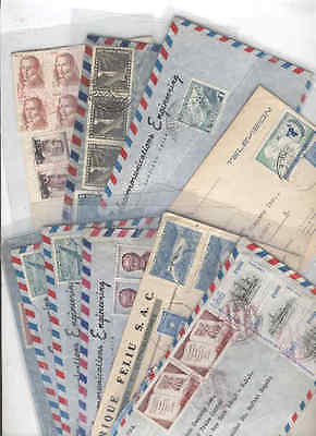 oldhal-Chile/Lot of 10 envelopes