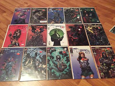 THE DARKNESS 1/2 1 15-19 28-37 variants +Witchblade VF/NM TOP COW COMICS