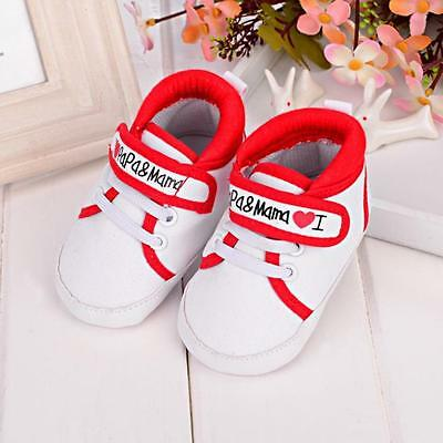 Infant Toddler Sneakers Baby Boy Girl Crib Shoes Newborn to 18 Months 13 US