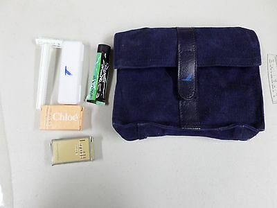 Piedmont Airlines Vintage New 6x8 Small Toiletry Make Up Amenities With Contents
