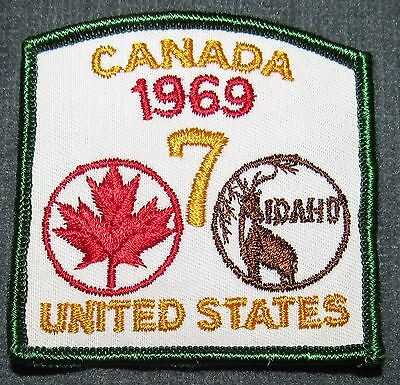 1969 National Boy Scout Jamboree Canada Canadian Contingent Patch MINT! Jambo NJ