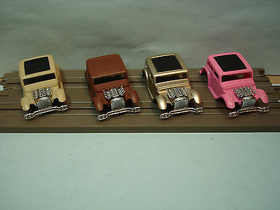 Ho Xtras Body Lot #1 1932 Ford Chop Sedan Bodies In 4 Colors See Detail Fit Afx