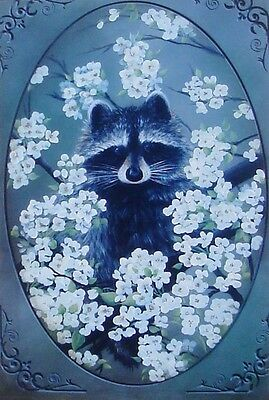 """Wendy Fahey Super cute tole painting pattern """"Bloomin Bandit"""""""