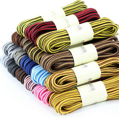 70-120cm 1 Pair Outdoor Sport Round Casual Sneakers Shoelaces Boot Shoe Lace ATA