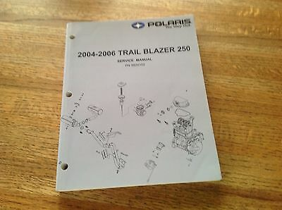 OEM Polaris 2004-2006 Trail Blazer 250 ATV Service Manual PN: 9920152