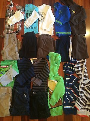 Boys 3t 8 Outfits Plus 3 Hoodies Lot Toddler Clothes
