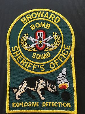 Broward County Florida Sheriff's Office  K-9  Shoulder  Patch