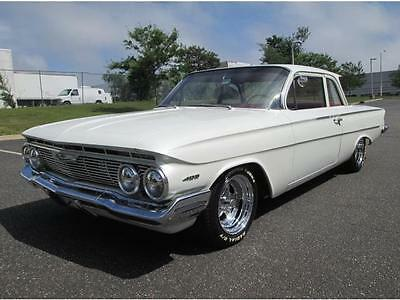 1961 Chevrolet Other Flat Top 1961 Chevrolet Biscayne Flat Top 4 Speed V8 Modified Restored Custom 1 of a Kind