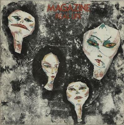 Magazine Real Life - 2nd - EX UK vinyl LP album record V2100 VIRGIN 1978