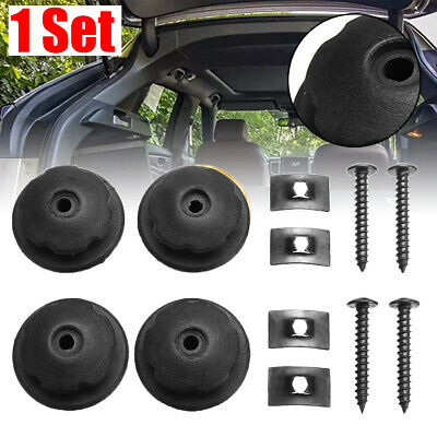Hardware Hook Mounting Point Set For Car Rear Cargo Trunk Storage Organizer