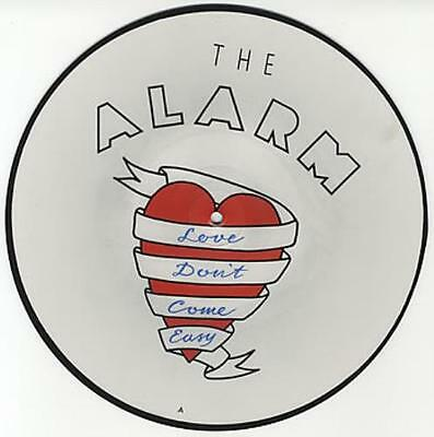 """Alarm Love Don't Come Easy UK 10"""" Vinyl Picture Disc Record Single EIRSPD134"""