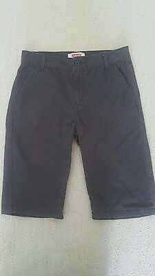 Levi's boys 16 dark gray shorts
