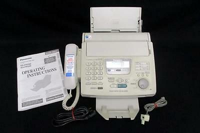 Panasonic Compact Plain Paper Fax Model KX-FP245 Machine and Telephone Answering