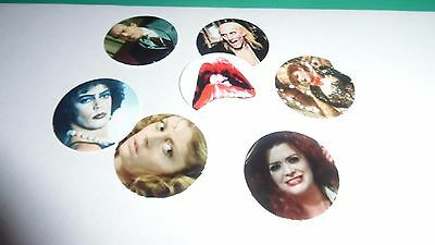 Pre Cut One Inch Bottle Cap Images Rocky Horror Show  Free Shipping