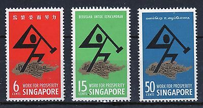 Singapore set of stamps to celebrate National Day 1968