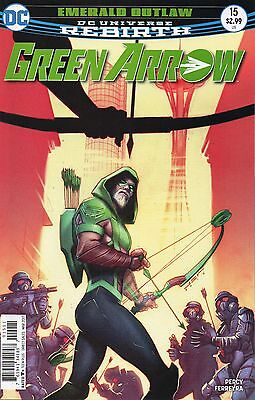 Green Arrow #15 (NM) `17 Percy/ Ferreyra  (Cover A)