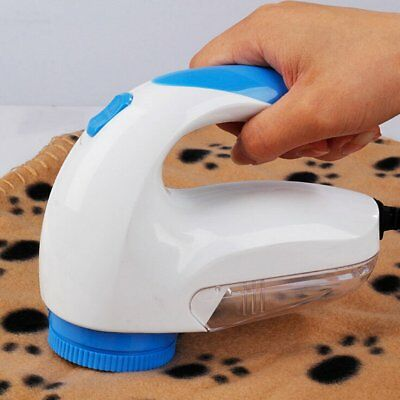 Portable Electric Clothes Fabrics Sweaters Lint Fuzz Shaver Fluff Remover TU