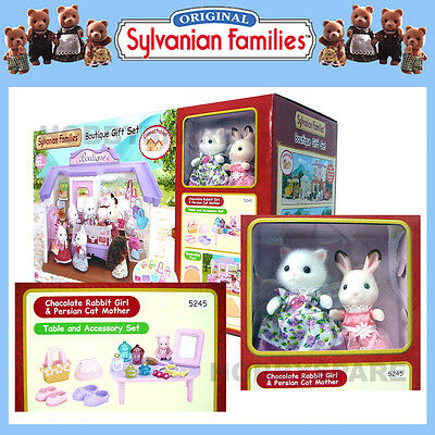 Sylvanian Families Boutique Shop Gift Set 2 Figures + Table + Accessories 5245