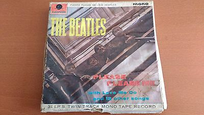 The Beatles Please Please Me Original Reel To Reel Tape Open Reel