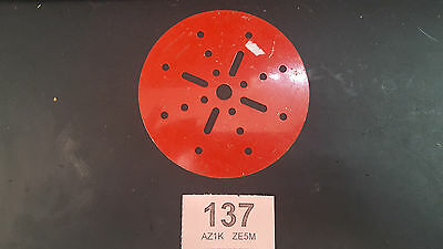Circular plate part number 146a vintage meccano (1137)