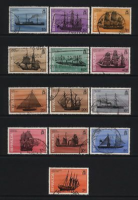 Bermuda 1986 Ship Wrecks Stamps Used