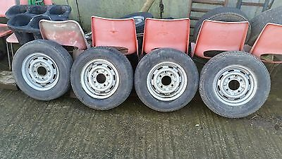 """Ifor williams trailer wheels and tyres   5.5""""pcd  ifor williams 165x13"""