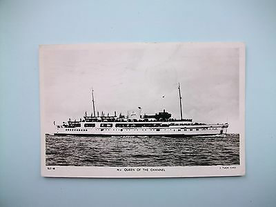 m.v.'QUEEN OF THE CHANNEL' - old postcard