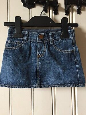Baby Girl Gap Denim Skirt Age 18-24 Months