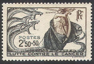 France 1941 Anti-Cancer Campaign Fund/Medical/Health/Welfare/Science 1v (n40614)