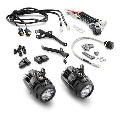 KTM Auxiliary LED Lamp Kit 2013-2017 Adventure/R/Super Adventure OEM 60314910133