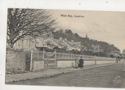 West Bay Innellan Argyll Scotland 1927 Postcard