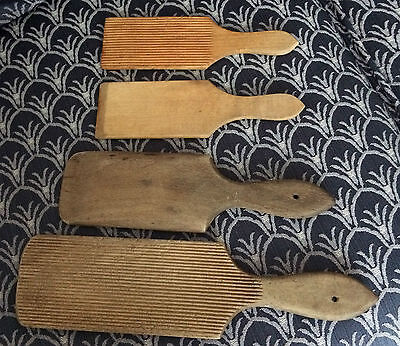 Wooden Ribbed Butter Pats Vintage And Modern