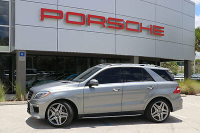 2014 Mercedes-Benz M-Class ML63 AMG 2014 Mercedes-Benz ML63 AMG!! Beautiful condition, only 11k Miles!
