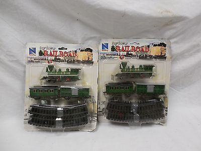 Lot of 2 New-Ray Toy Co. - Toy Town Railroad Collection- Train Sets