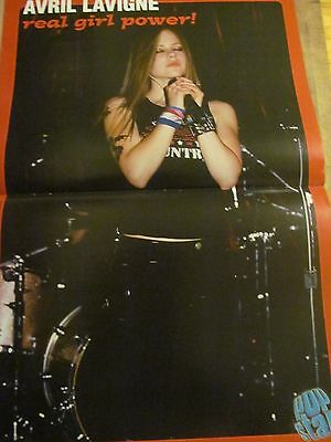 Avril Lavigne, Jump5, Double Two Page Centerfold Poster