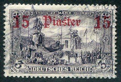 GERMANY Offices  In  Turkish  Empire  94  Very  Nice Used  Issue UPTOWN 27877