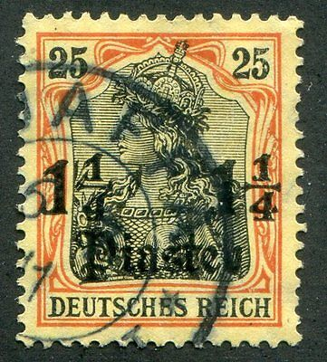 GERMANY Offices  In  Turkish  Empire  34  Very  Nice Used  Issue UPTOWN 27879
