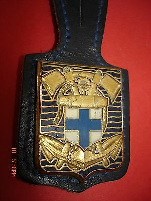 Joli Ancien  Rare(Obsolete) Insigne Collection Pompiers  Bmp  Marseille  Ballard