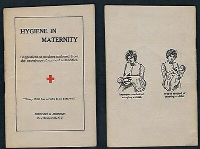 1930`s Red Cross Booklet Hygiene In Maternity:Suggestions to Mothers by Experts
