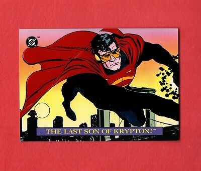 1993 Skybox Bloodlines N0.s3 The Last Son Of Krypton