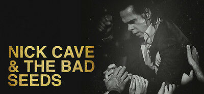 Nick Cave & The Bad Seeds 02 Arena Standing X 2