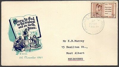AUSTRALIA 1961 FDC First Day Cover