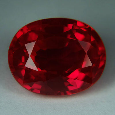 12.60ct.AWESOME BLOOD RED RUBY OVAL LOOSE GEMSTONE