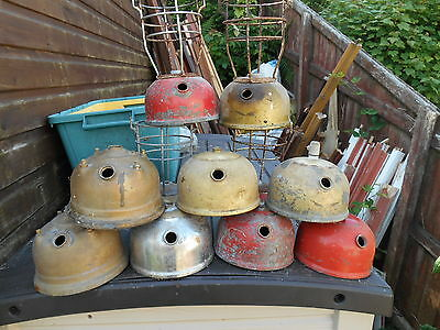 Job Lot To Clear 11 Various Model Tilley Lamp Tanks Fonts Spares Or Restoration
