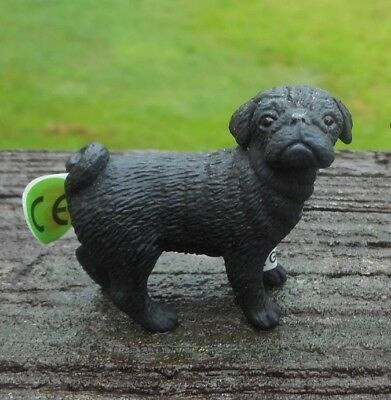 PUG MALE AND FEMALE  by Schleich/ dog/toy/ /16382/16381/RETIRED