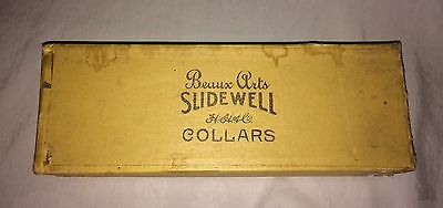 12 Antique Mens Collars SLIDEWELL BEAUX ARTS LOWELL-VANHEUSEN-ARROW-C.P.&Co.inc
