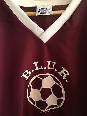 Very Rare Blur Football Shirt Britpop Merchandise Large
