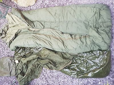 "British ""Arctic Sleeping Bag"" with Falklands War provenance, dated 1982 &cover"