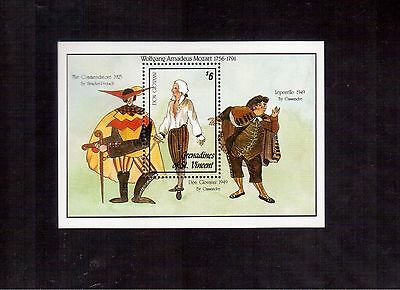 Grenadines Of St.vincent 1992 #958 S/s Mint Nh, Scene From Don Giovanni !!